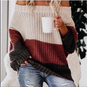 VICI off shoulder sweater